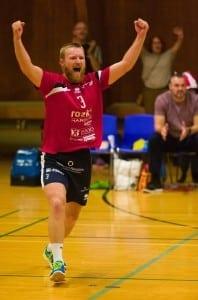 Anders Udemark jubler efter sejr