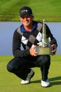 Jeppe Huldahl vinder i 2009 The Celtic Manor Welsh Open.