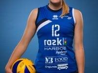 Katrine Lundberg havde stor andel i kampens resultat, da hun spillede en pragtkamp. Fotograf: MortenO.com